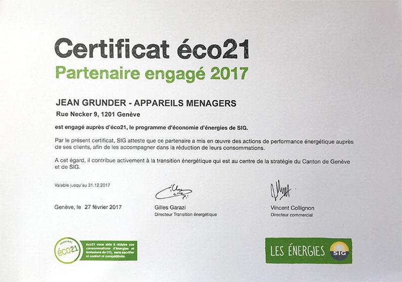 Eco21 - SIG - 2017