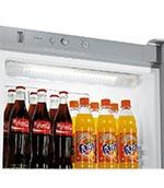 Eclairage LED réfrigérateur à bouteilles Liebherr