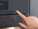 Four compact Miele ouverture sans poignée Touch2Open