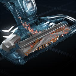 Technologie BrushRollClean™ d'auto-nettoyage