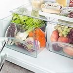 Bacs légumes transparents
