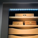 Humidor - Eclairage LED - Liebherr Suisse