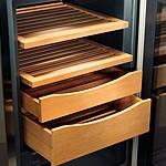 Humidor - Clayettes en bois - Liebherr - Suisse