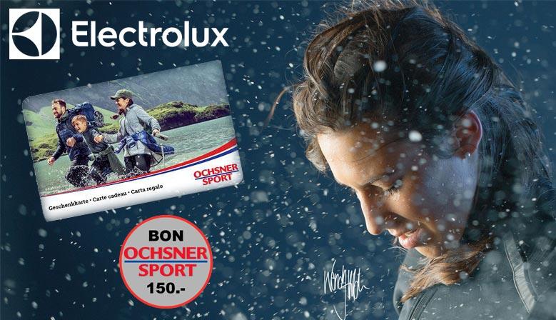 Bon Ochsner Sport valeur CHF 150.-