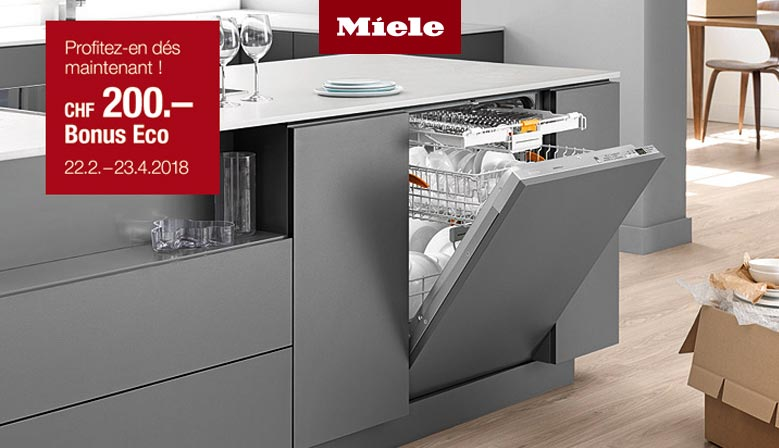 Eco Bonus Miele - Lave-vaisselle 2018