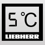 Liebherr affichage digitale de la température